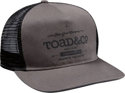 Toad & Co Trucker hat One Size - Smoke - Toad & Co Hats