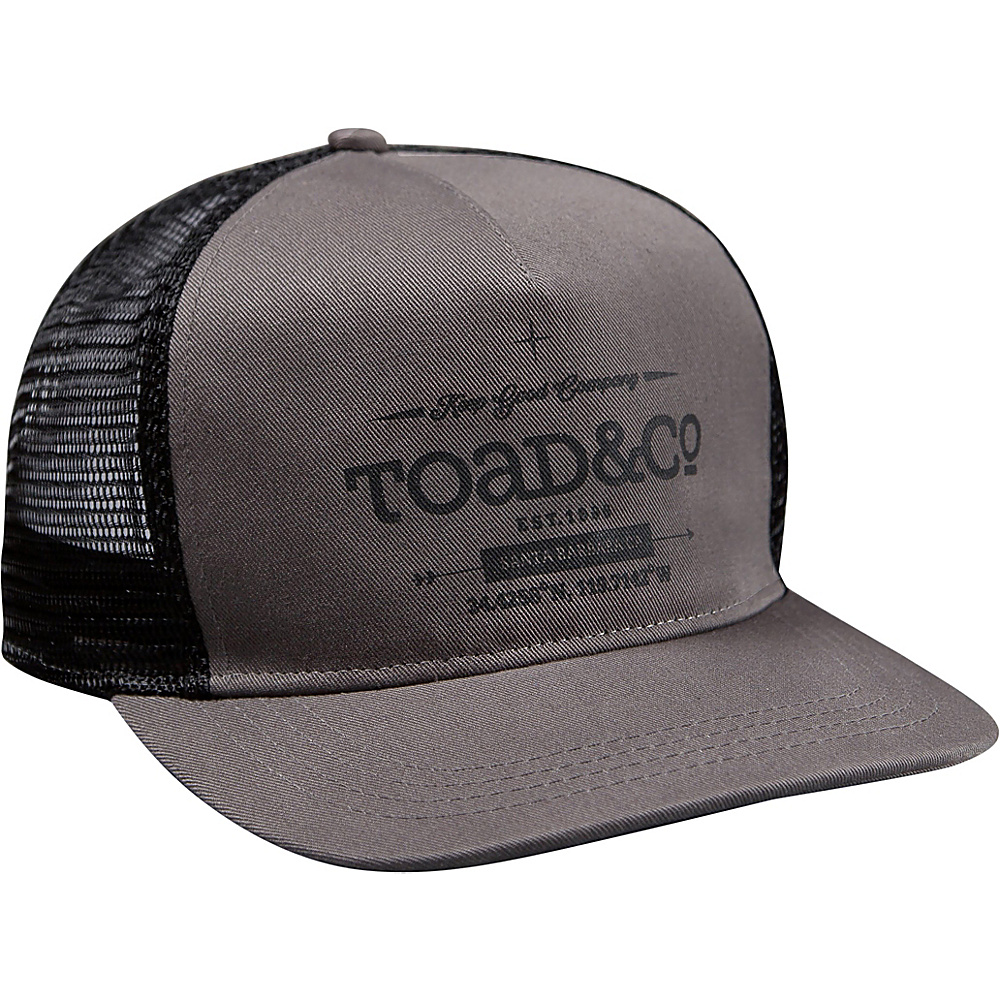 Toad & Co Trucker hat One Size - Smoke - Toad & Co Hats - Fashion Accessories, Hats