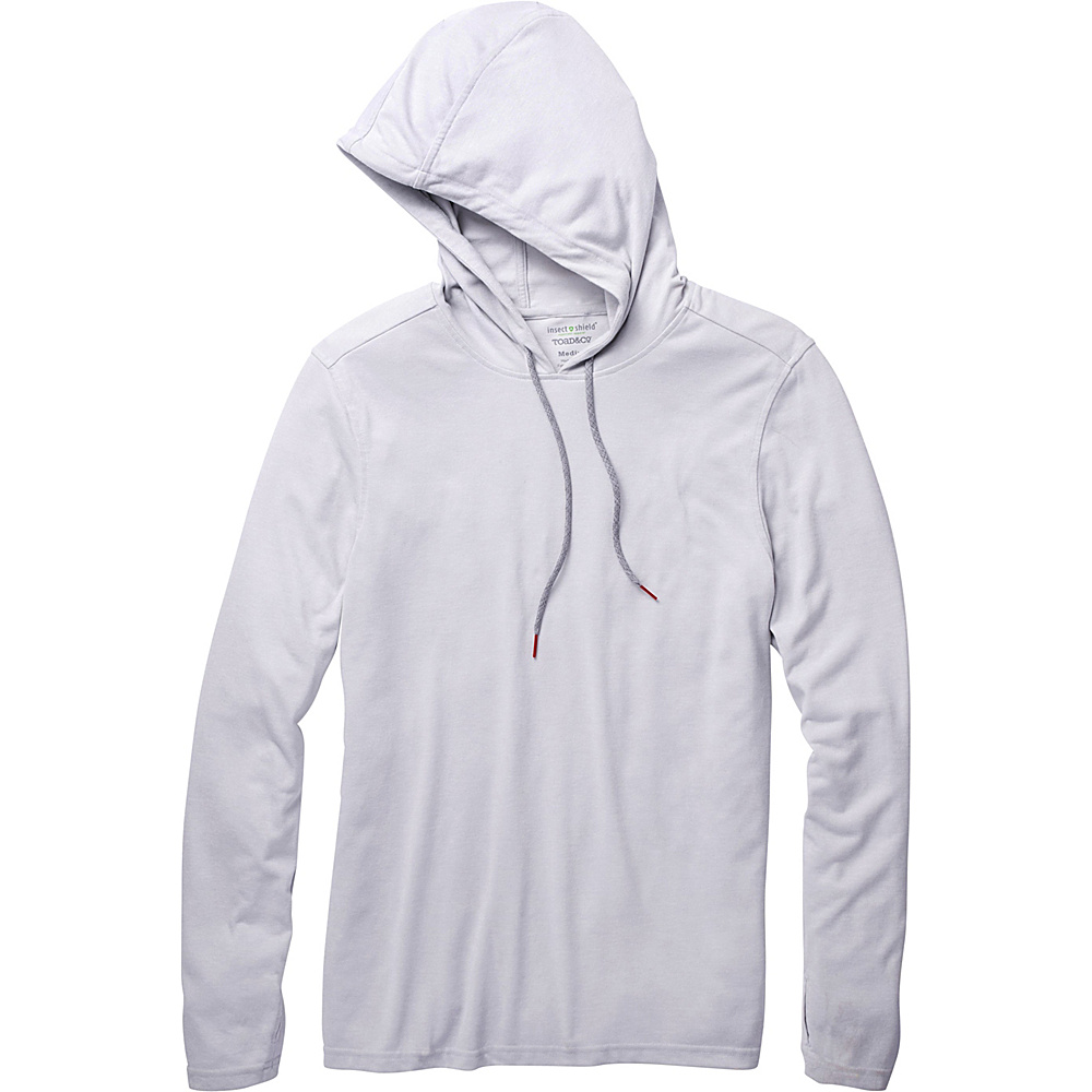 Toad & Co Debug Solaer Hoodie L - Chrome - Toad & Co Mens Apparel - Apparel & Footwear, Men's Apparel