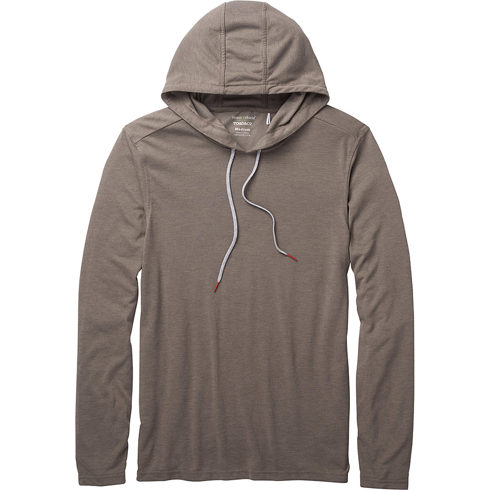 Toad & Co Debug Solaer Hoodie S - Jeep - Toad & Co Mens Apparel - Apparel & Footwear, Men's Apparel