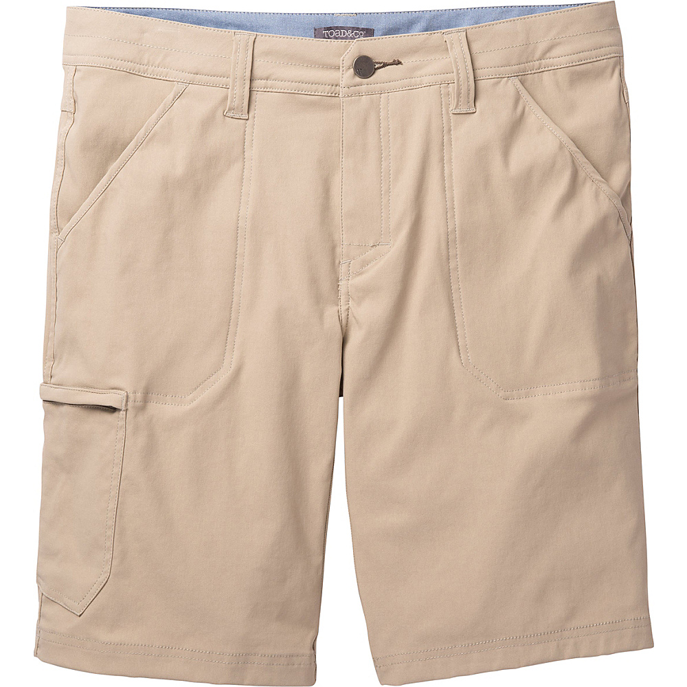 Toad & Co Barrow Short 30 - Buckskin - Toad & Co Mens Apparel - Apparel & Footwear, Men's Apparel