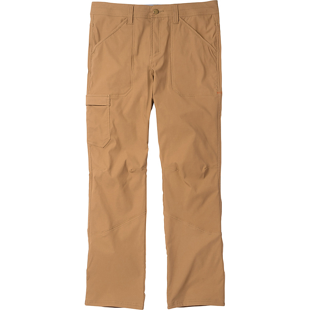 Toad & Co Barrow Pant 33 - 32in - Seal Brown - Toad & Co Mens Apparel - Apparel & Footwear, Men's Apparel