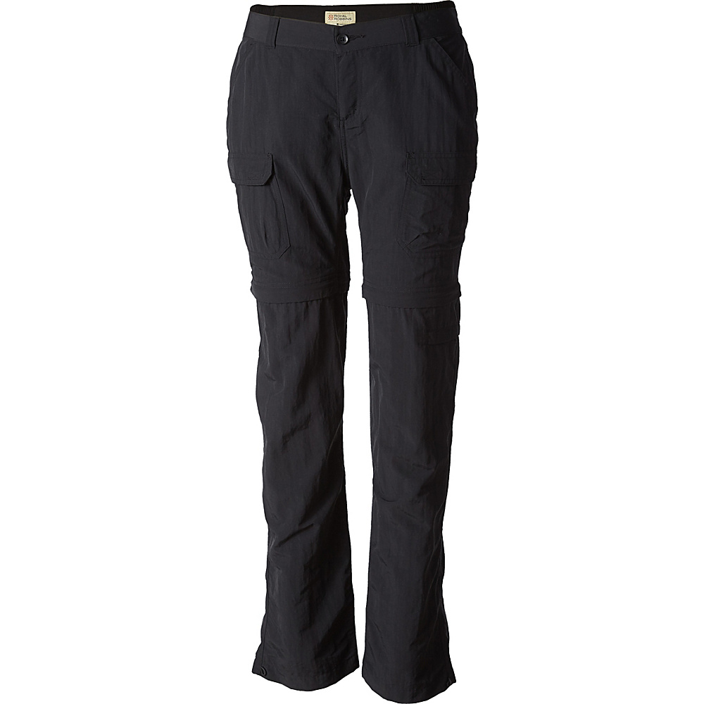 Royal Robbins Womens Classic Zip N Go Pant 8 - 34in - Jet Black - Royal Robbins Womens Apparel - Apparel & Footwear, Women's Apparel