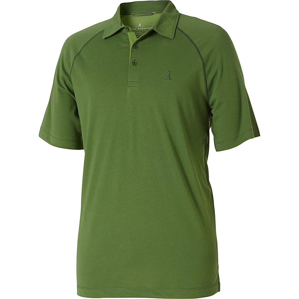 Royal Robbins Mens Wick-Ed Cool Polo XL - Ivy - Royal Robbins Mens Apparel - Apparel & Footwear, Men's Apparel