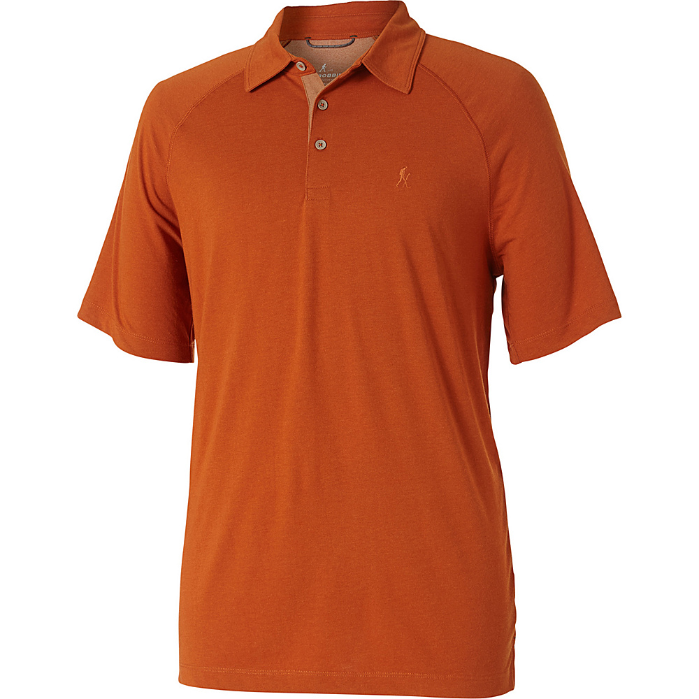 Royal Robbins Mens Wick-Ed Cool Polo S - Cordwood - Royal Robbins Mens Apparel - Apparel & Footwear, Men's Apparel