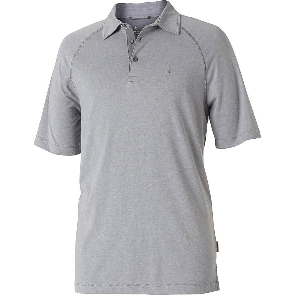 Royal Robbins Mens Wick-Ed Cool Polo XL - Moon - Royal Robbins Mens Apparel - Apparel & Footwear, Men's Apparel