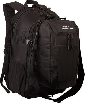 Granite Rocx The Tahoe Backpack Black - Granite Rocx Day Hiking Backpacks