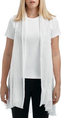 Lava Accessories Chambray Vest One Size  - White - Lava Accessories Women's Apparel