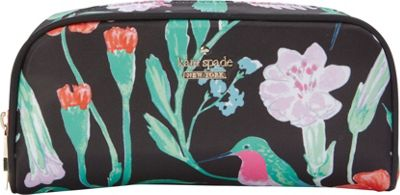 kate spade new york Classic Nylon Berrie Pouch Black Multi - kate spade new york Women's SLG Other