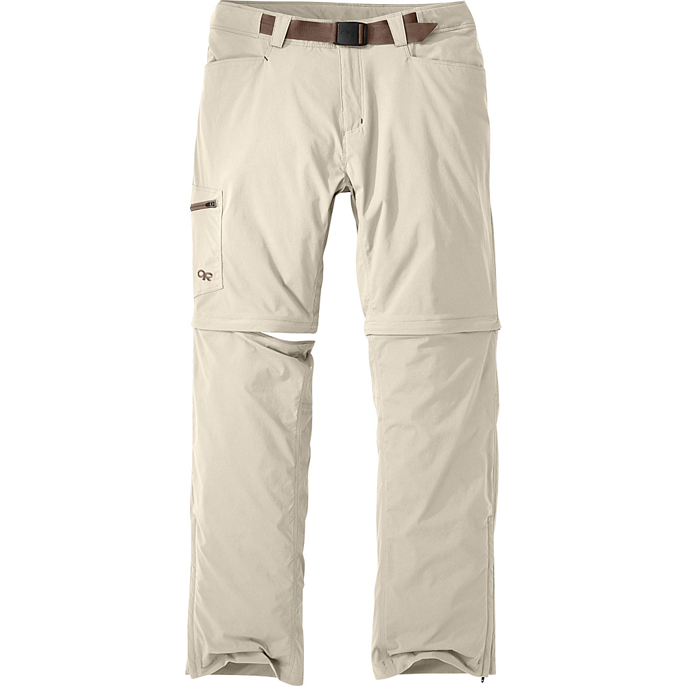 Outdoor Research Mens Equinox Convertible Pants 30 - Cairn - Outdoor Research Mens Apparel - Apparel & Footwear, Men's Apparel