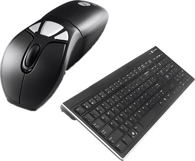 Gyration Air Mouse Go Plus with Full-Size Keyboard Black - Gyration Business Accessories