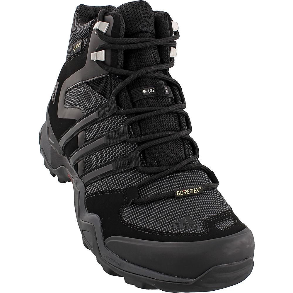 adidas outdoor Mens Fast X High GTX Shoe 7.5 - Black/Dark Grey/Power Red - adidas outdoor Mens Footwear - Apparel & Footwear, Men's Footwear