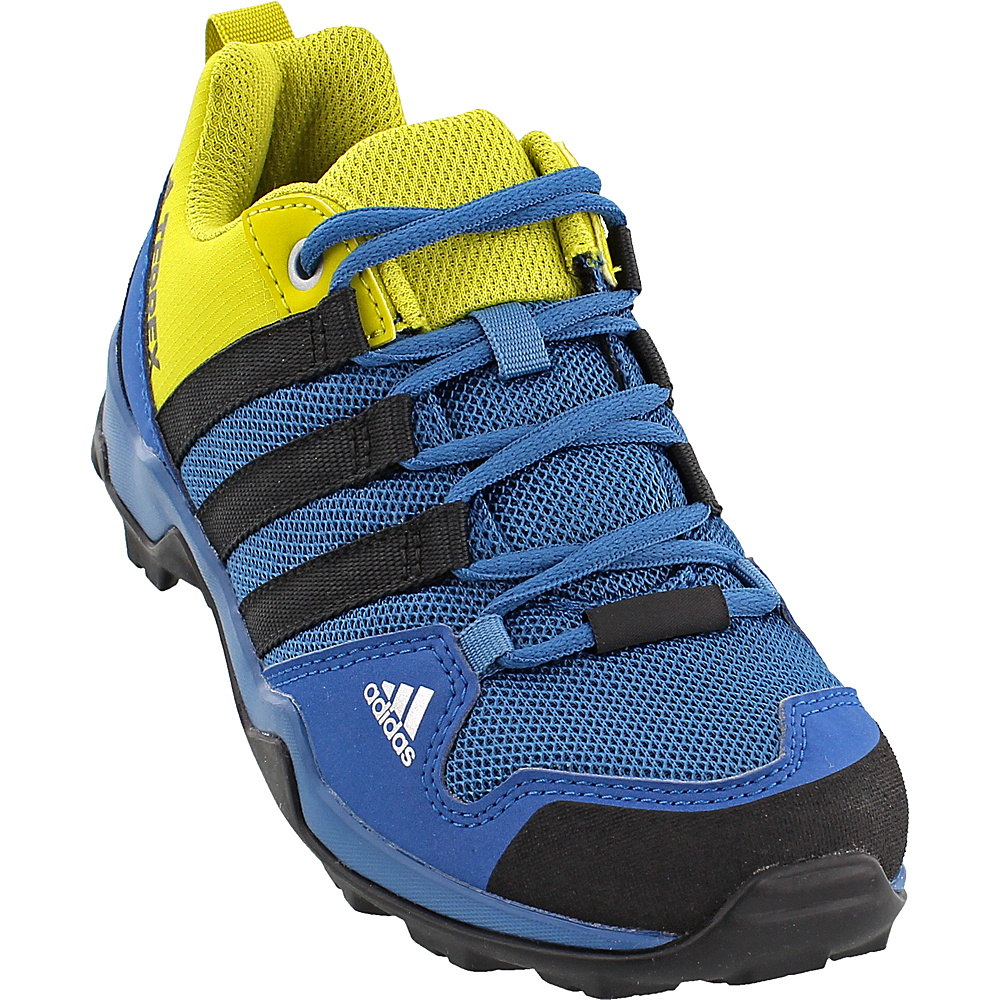 adidas outdoor Kids Terrex AX2R Shoe 11 (US Kids) - Core Blue/Black/Unity Lime - adidas outdoor Mens Footwear - Apparel & Footwear, Men's Footwear