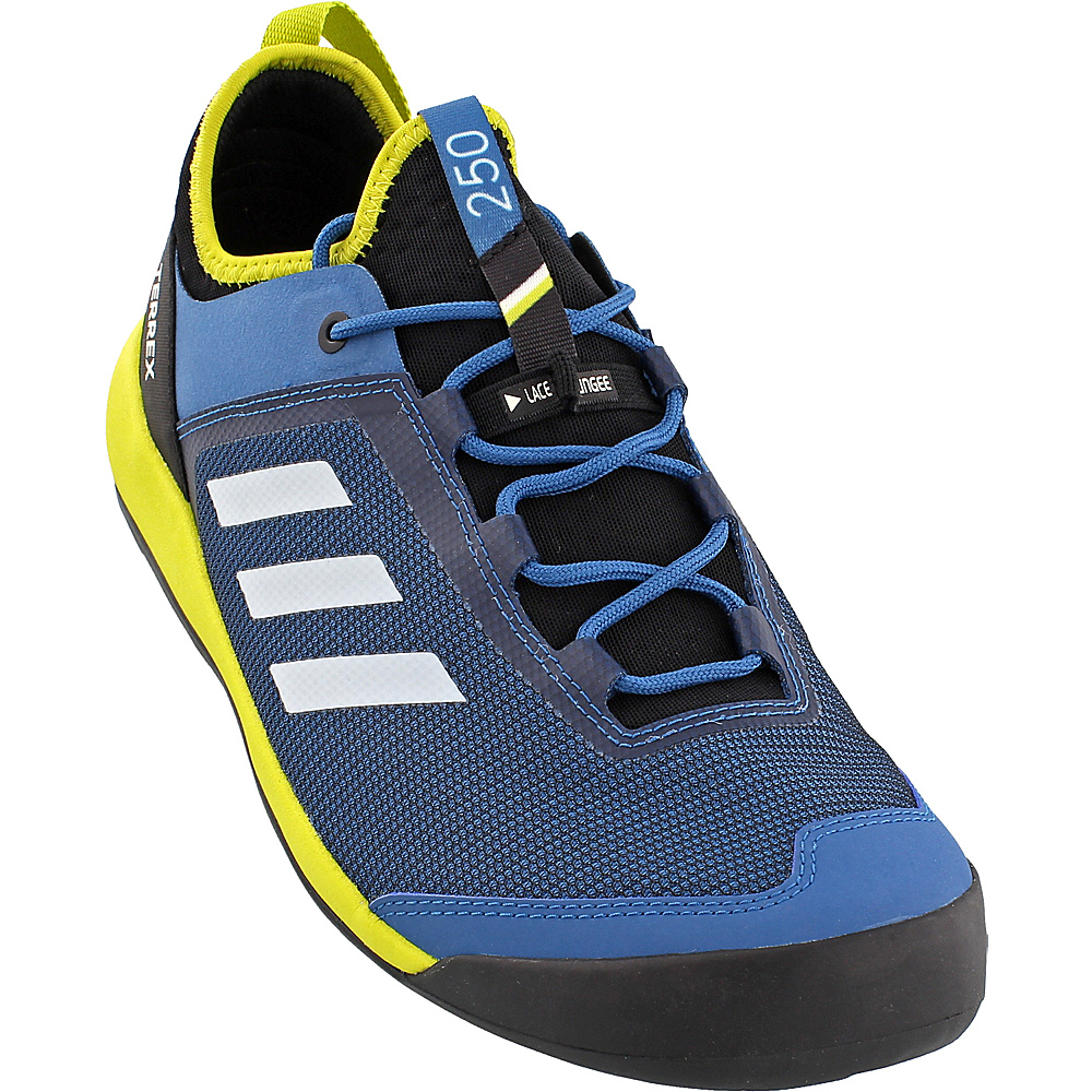 adidas outdoor Mens Terrex Swift Solo Shoe 6.5 - Core Blue/Chalk White/Unity Lime - adidas outdoor Mens Footwear - Apparel & Footwear, Men's Footwear