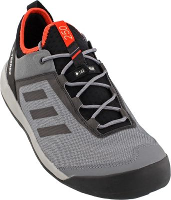 adidas outdoor Mens Terrex Swift Solo Shoe 7 - Vista Grey/Chalk White/Energy - adidas outdoor Men's Footwear