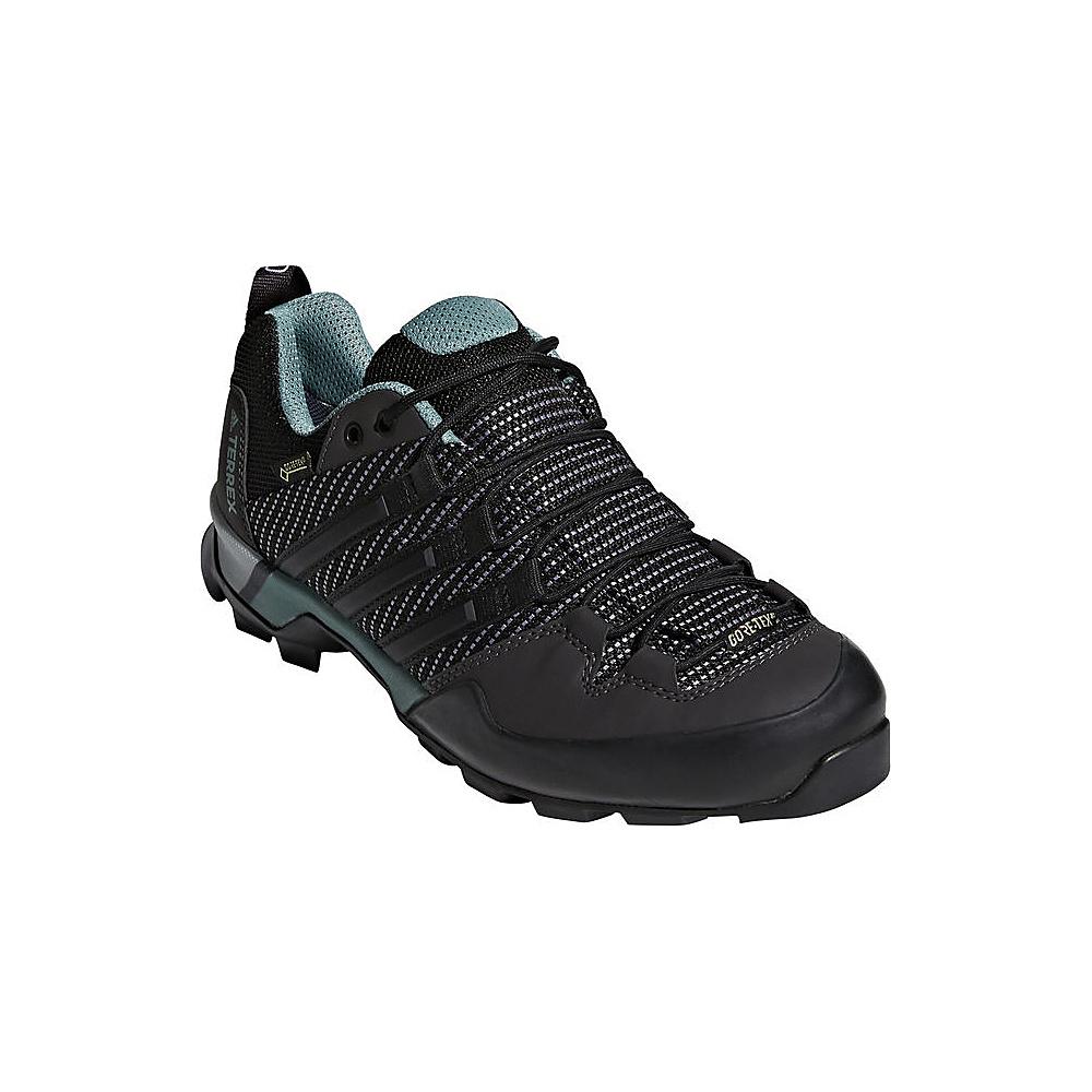 adidas outdoor Womens Terrex Scope GTX  Shoe 5 - Carbon/Black/Ash Green - adidas outdoor Womens Footwear - Apparel & Footwear, Women's Footwear