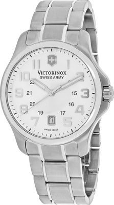 Swiss Army Watches Men's Officer Watch Silver - Swiss Army Watches Watches