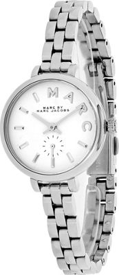 Marc Jacobs Watches Women's Baker Watch Silver - Marc Jacobs Watches Watches