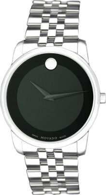 Movado Watches Men's Museum Watch Black - Movado Watches Watches