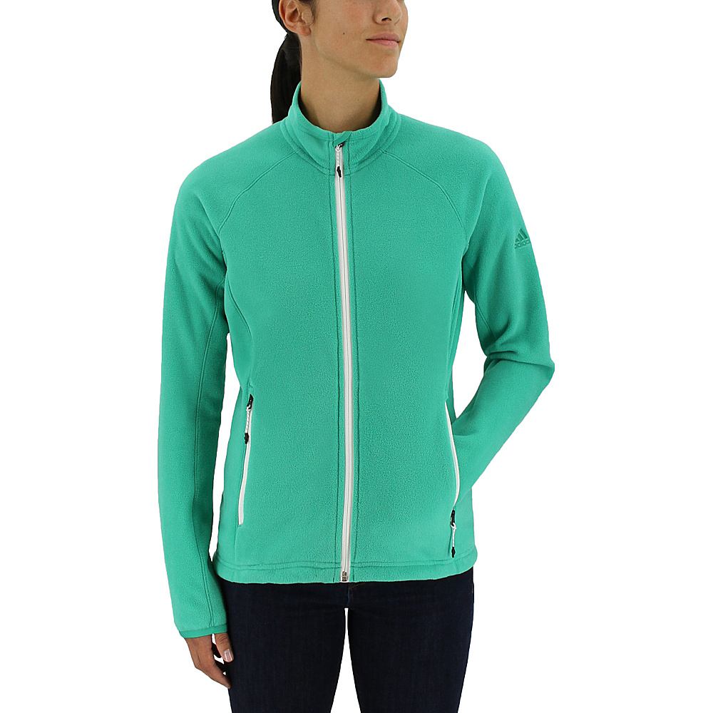 adidas outdoor Womens Reachout Jacket S - Core Green - adidas outdoor Womens Apparel - Apparel & Footwear, Women's Apparel