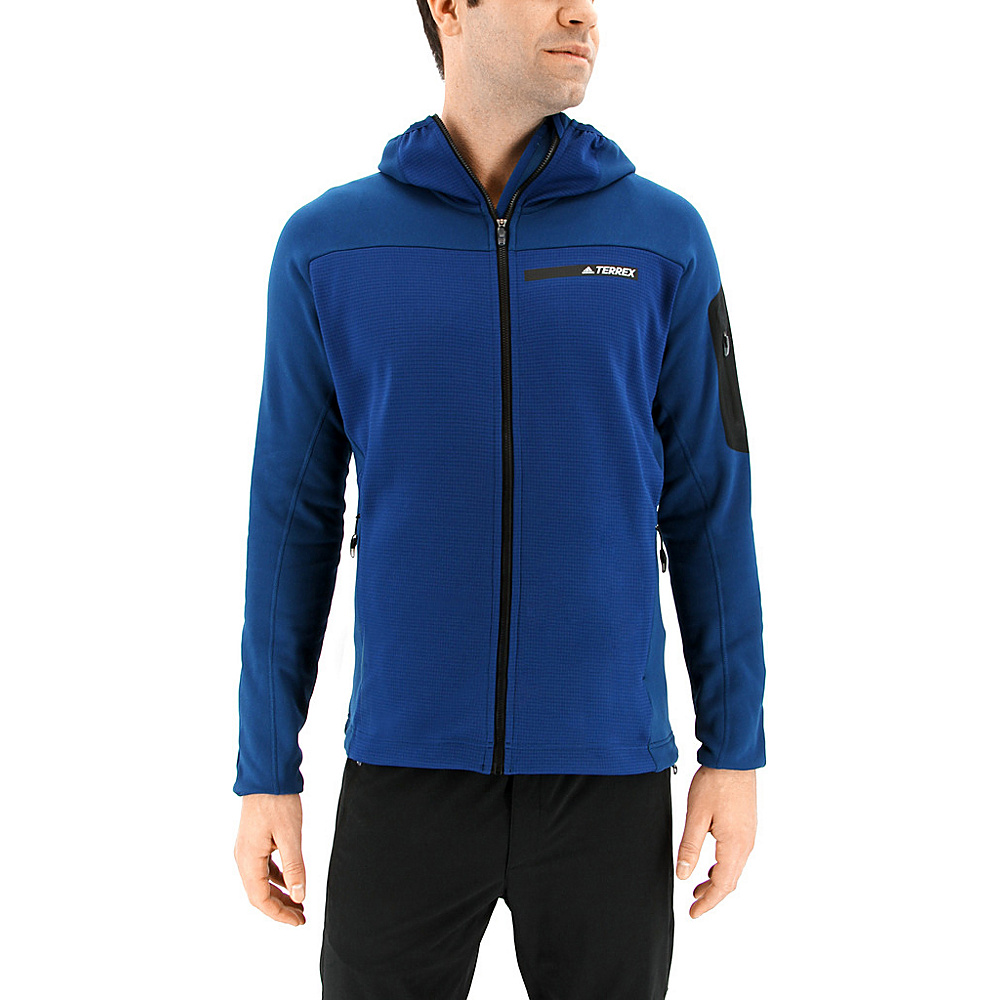 adidas outdoor Mens Terrex Stockhorn Hoodie S - Blue Night - adidas outdoor Mens Apparel - Apparel & Footwear, Men's Apparel