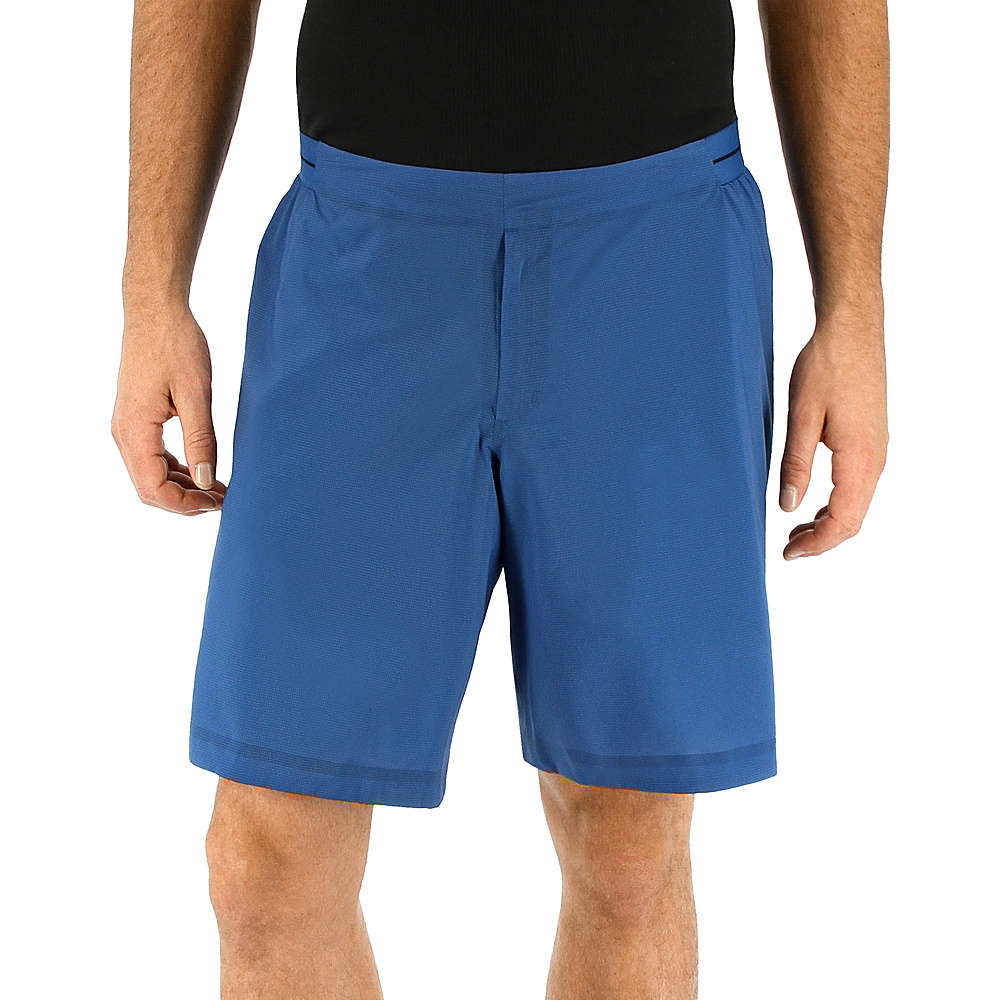 adidas outdoor Mens Terrex Agravic Short 34 - 9in - Core Blue - adidas outdoor Mens Apparel - Apparel & Footwear, Men's Apparel