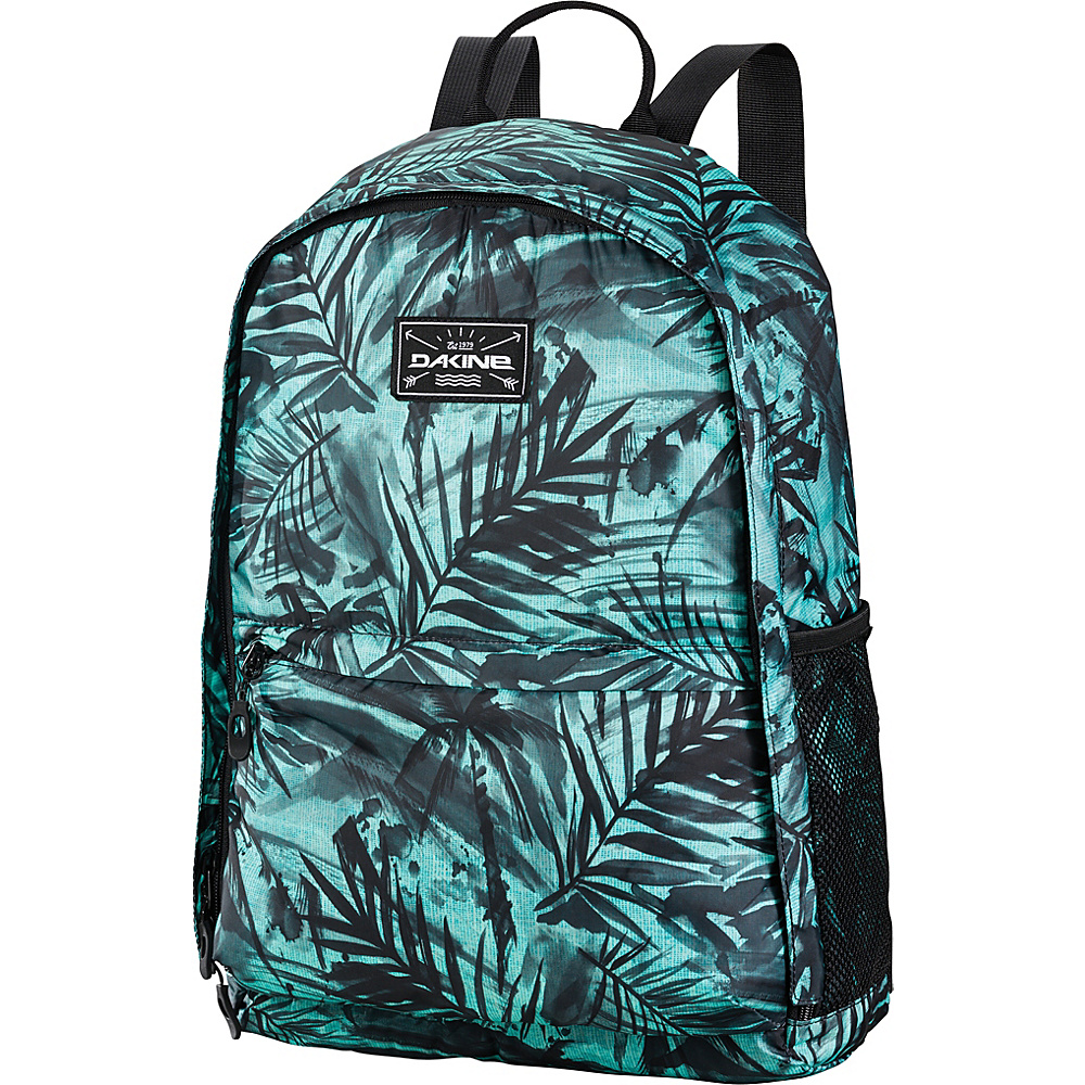 DAKINE Stashable Backpack 20L Painted Palm - DAKINE Lightweight Packable Expandable Bags - Travel Accessories, Lightweight Packable Expandable Bags