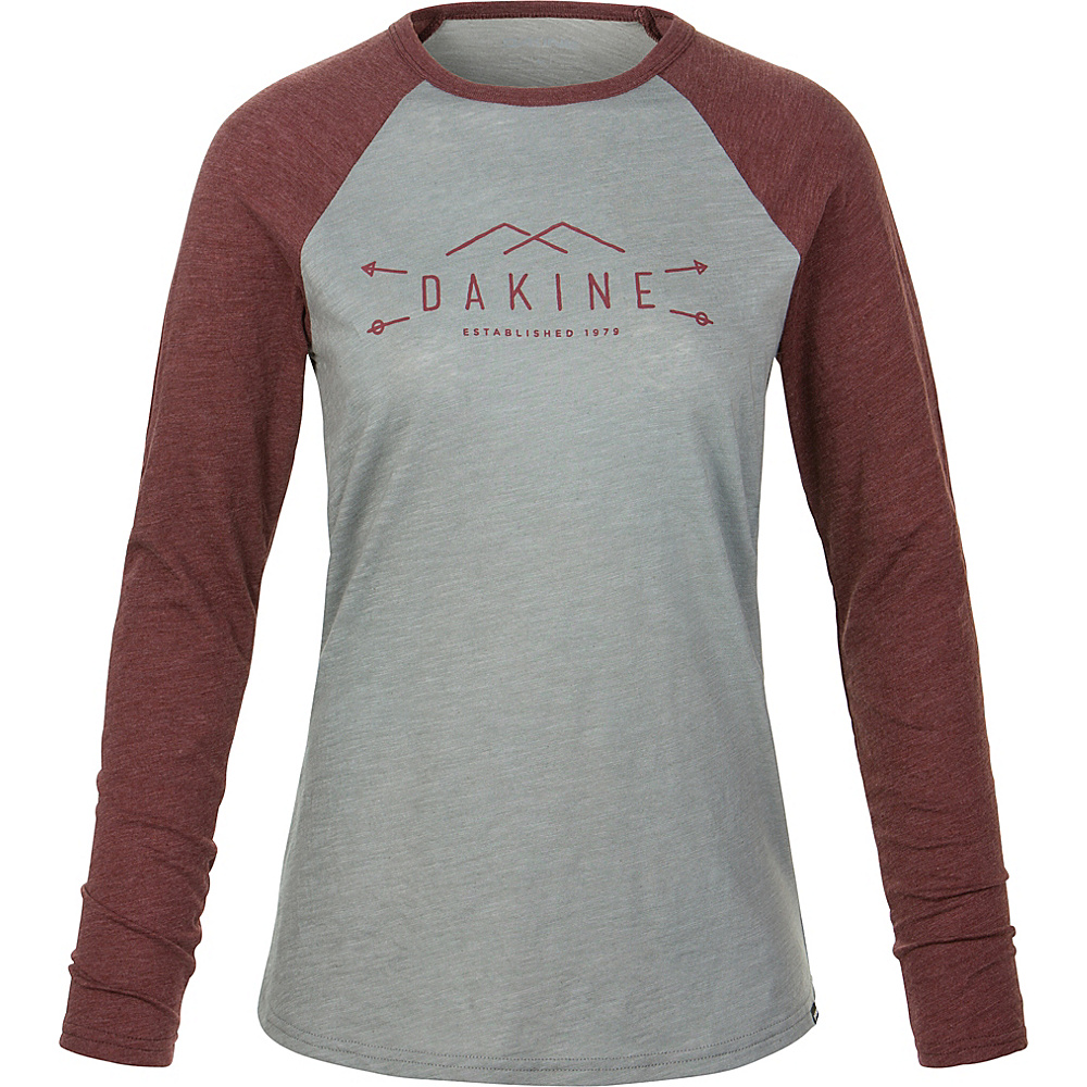 DAKINE Womens Casey Long Sleeve S - Griffin/Andorra - DAKINE Womens Apparel - Apparel & Footwear, Women's Apparel