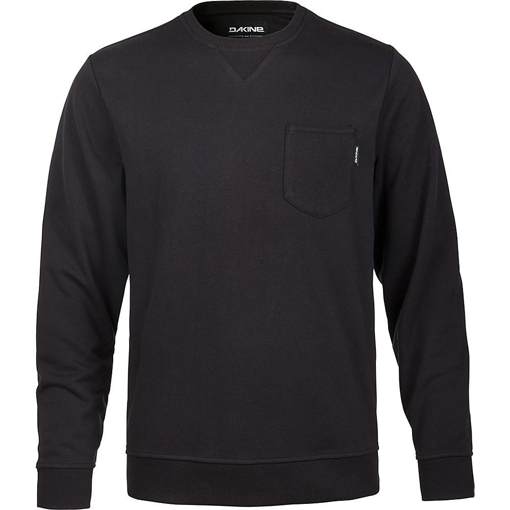 DAKINE Mens Belmont Crew Fleece L - Black - DAKINE Mens Apparel - Apparel & Footwear, Men's Apparel