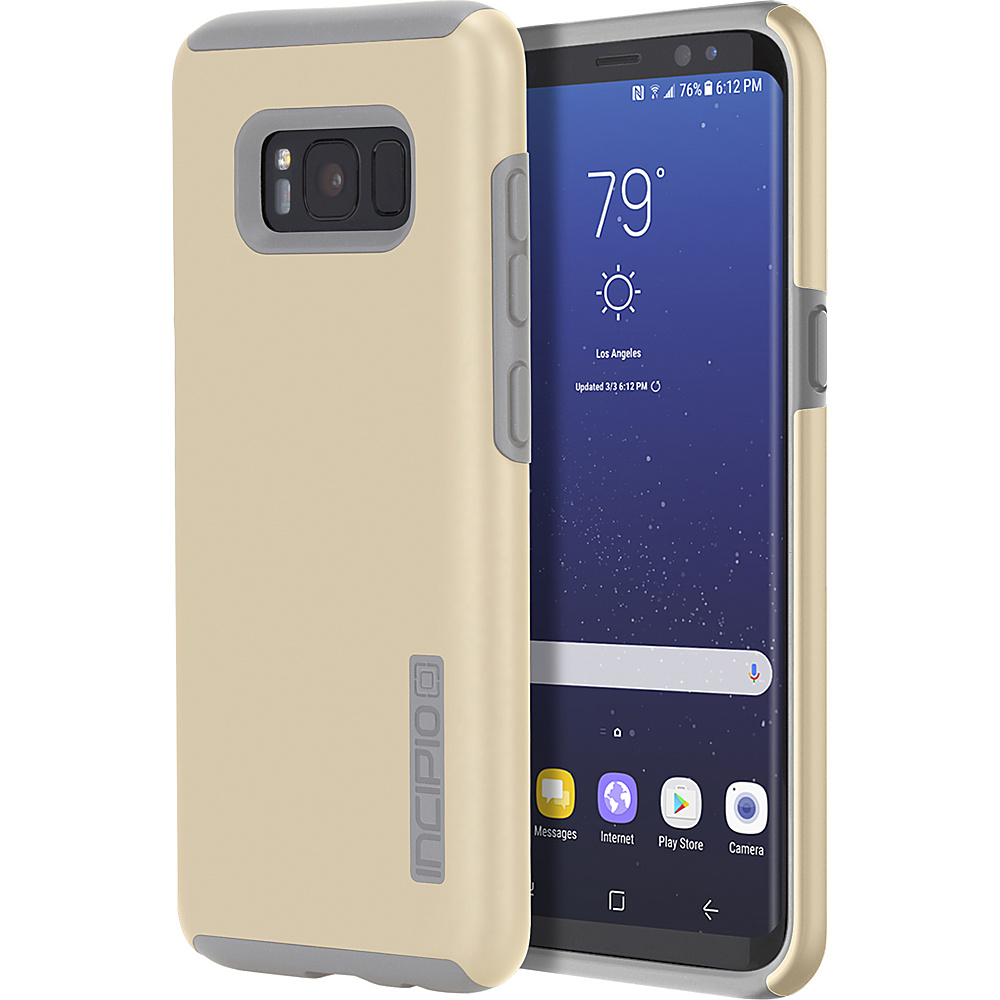Incipio DualPro for Samsung Galaxy S8+ Champagne/Gray - Incipio Electronic Cases - Technology, Electronic Cases