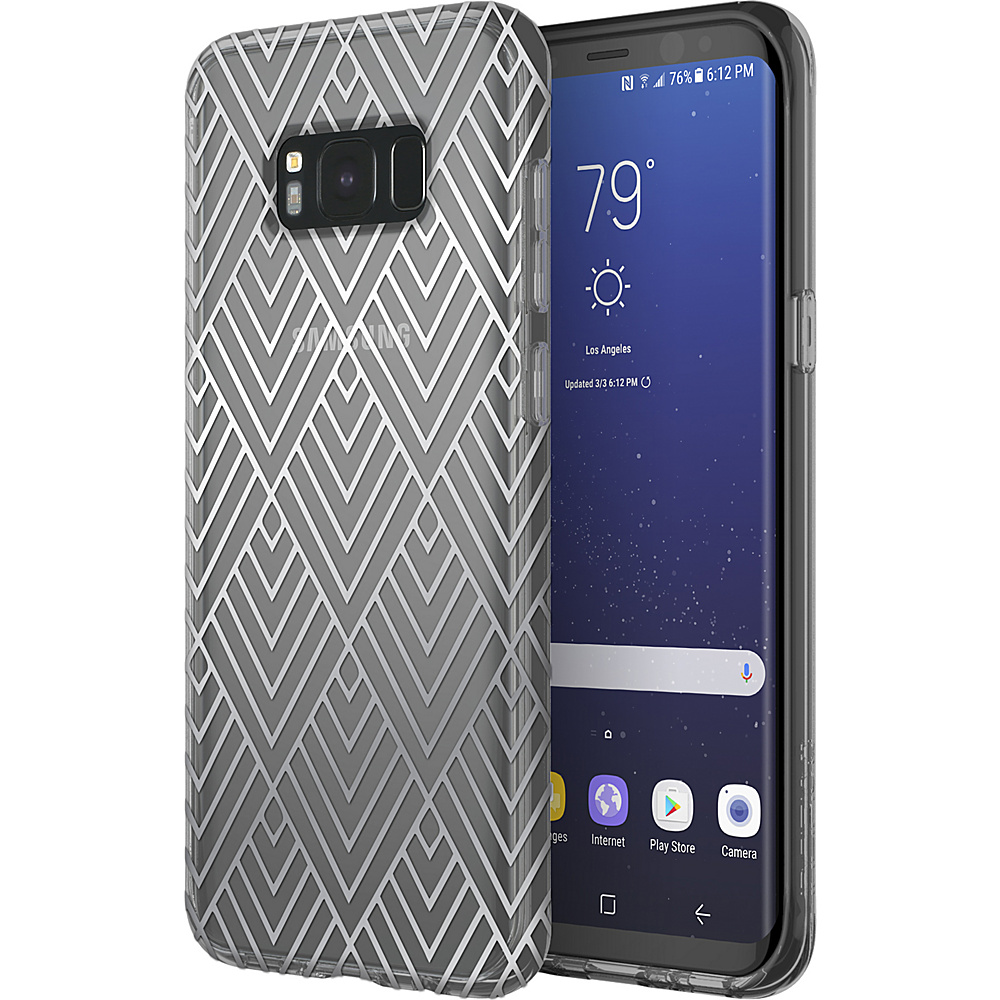 Incipio Design Series Classic for Samsung Galaxy S8+ Silver Prism - Incipio Electronic Cases - Technology, Electronic Cases