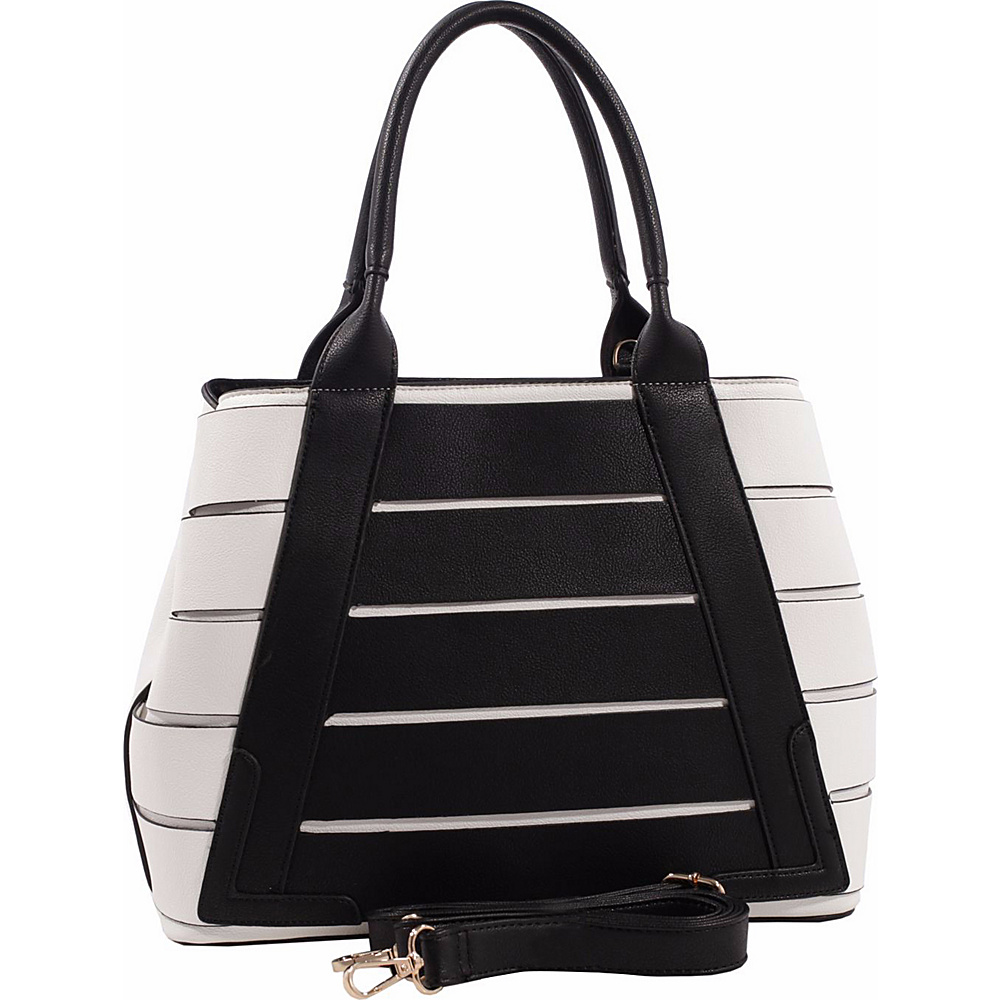 MKF Collection by Mia K. Farrow Beijing Tote with Shoulder Strap Black - MKF Collection by Mia K. Farrow Manmade Handbags - Handbags, Manmade Handbags