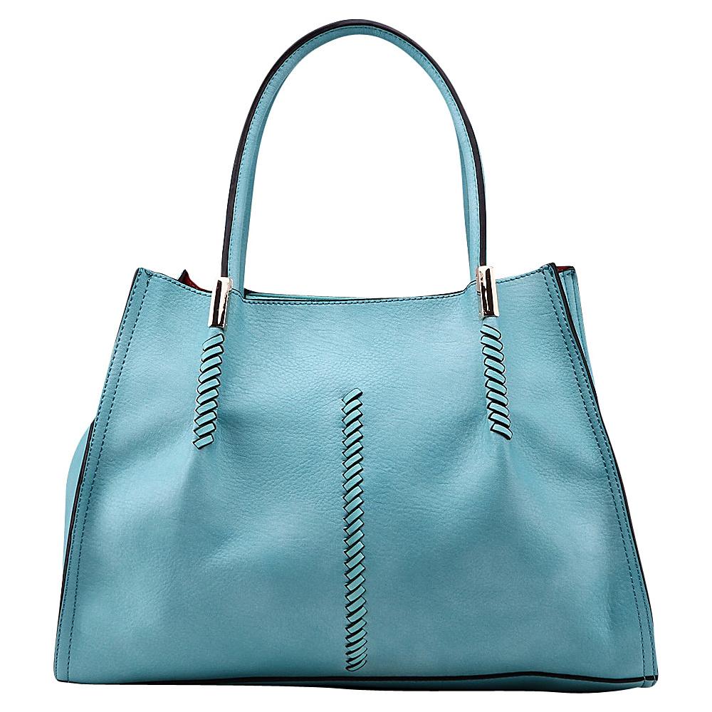 MKF Collection Gardner Satchel Light Blue - MKF Collection Manmade Handbags - Handbags, Manmade Handbags
