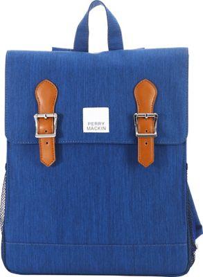 Perry Mackin Charlie Backpack Blue - Perry Mackin School & Day Hiking Backpacks