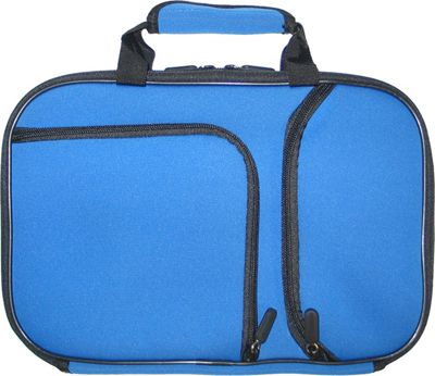 Digital Treasures PocketPro Deluxe Netbook and Tablet Carrying Case Ice Blue - Digital Treasures Electronic Cases