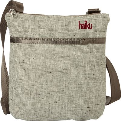 Haiku RFID Revel Crossbody Mushroom - Haiku Fabric Handbags