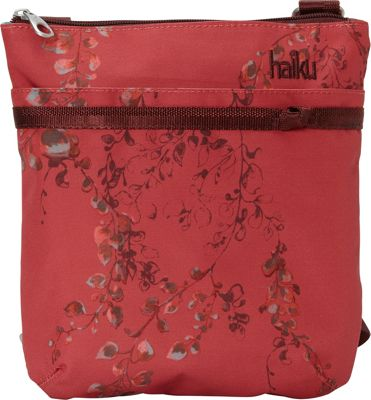 Haiku RFID Revel Crossbody Cinnabar Wisteria Print - Haiku Fabric Handbags