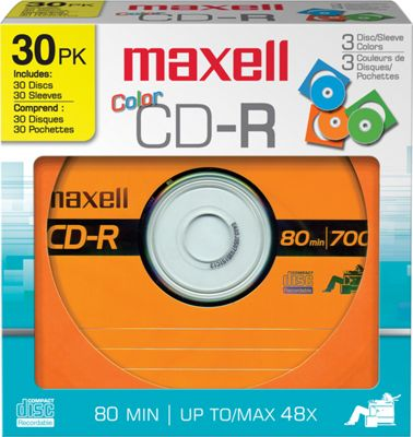 Maxell 700MC CD-R Color Discs