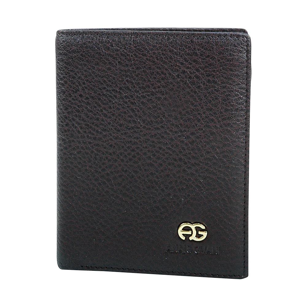 Dasein Mens Genuine Top Grain Leather Wallet Brown - Dasein Mens Wallets - Work Bags & Briefcases, Men's Wallets
