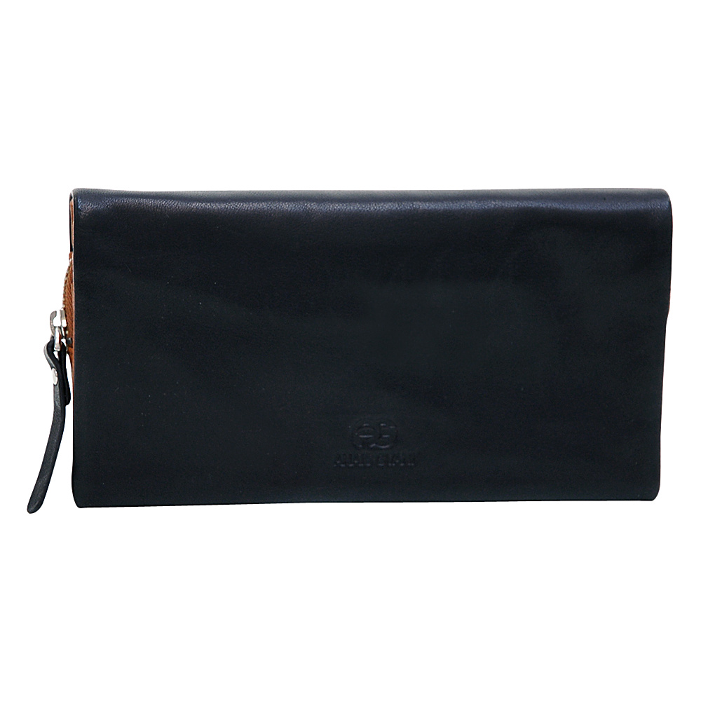 Dasein Womens Bifold Wallet Black/Brown - Dasein Womens Wallets - Women's SLG, Women's Wallets