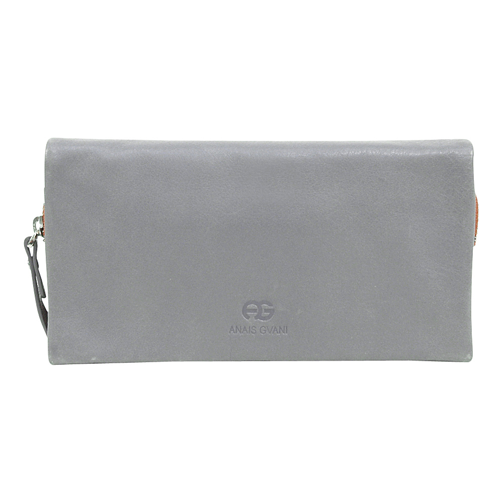 Dasein Womens Bifold Wallet Grey/Brown - Dasein Womens Wallets - Women's SLG, Women's Wallets