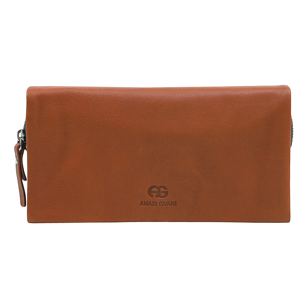 Dasein Womens Bifold Wallet Brown/Grey - Dasein Womens Wallets - Women's SLG, Women's Wallets
