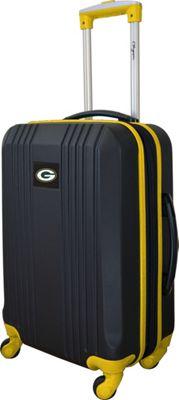 MOJO Denco 21 inch Carry-On Hardcase 2-Tone Spinner Green Bay Packers - MOJO Denco Hardside Luggage