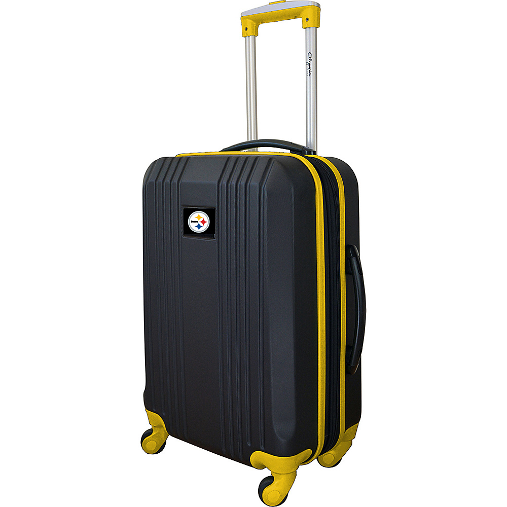 MOJO Denco 21 Carry-On Hardcase 2-Tone Spinner Pittsburgh Steelers - MOJO Denco Hardside Luggage - Luggage, Hardside Luggage