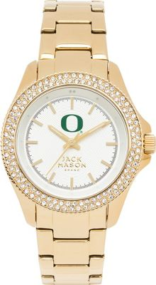 Jack Mason League NCAA Gold Glitz Womens Watch Oregon Ducks - Jack Mason League Watches
