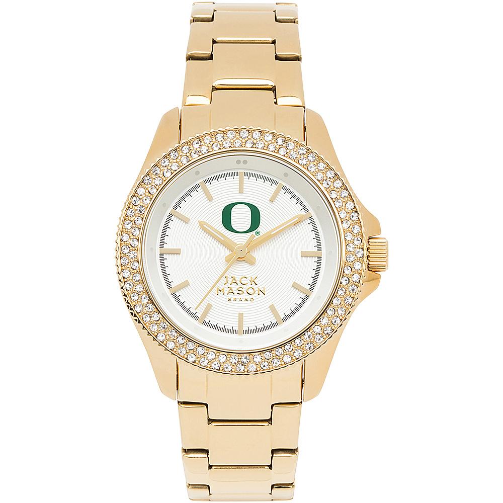 Jack Mason League NCAA Gold Glitz Womens Watch Oregon Ducks - Jack Mason League Watches - Fashion Accessories, Watches
