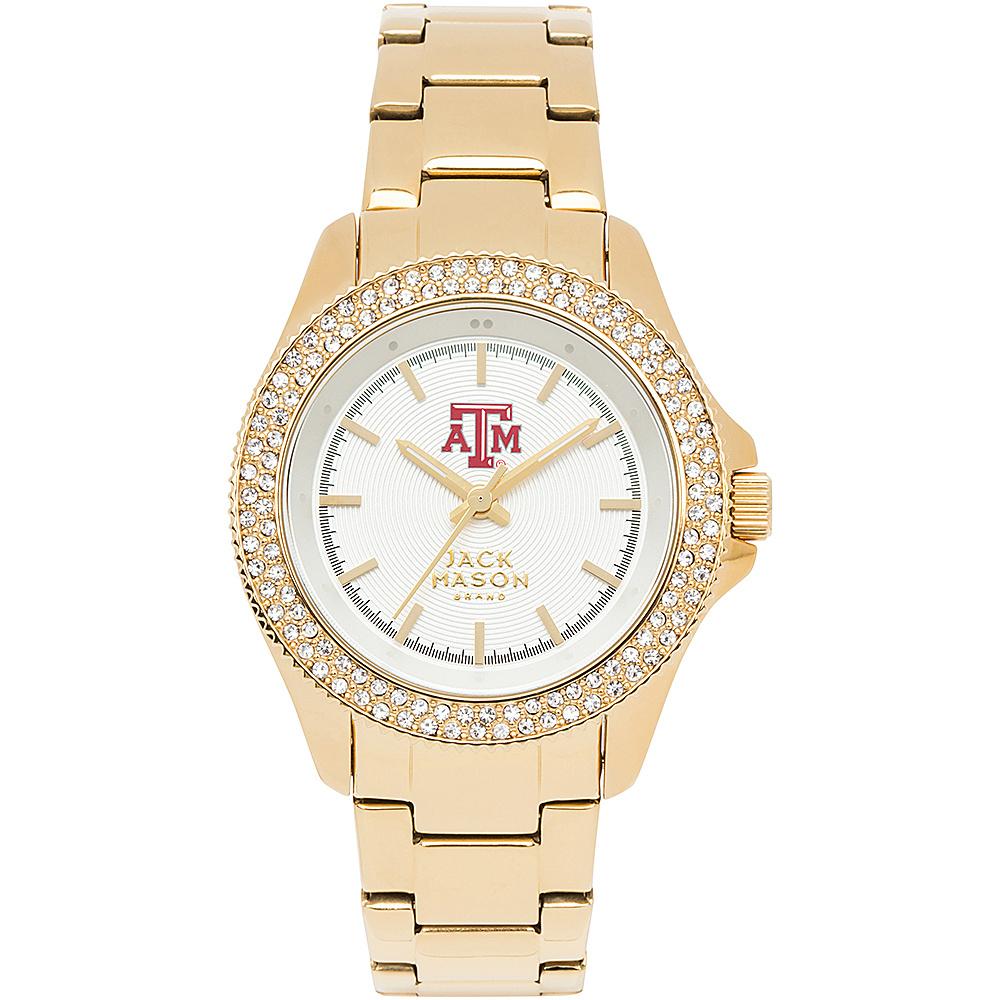 Jack Mason League NCAA Gold Glitz Womens Watch Texas A&M Aggies - Jack Mason League Watches - Fashion Accessories, Watches