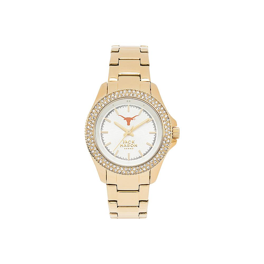 Jack Mason League NCAA Gold Glitz Womens Watch Texas Longhorns - Jack Mason League Watches - Fashion Accessories, Watches