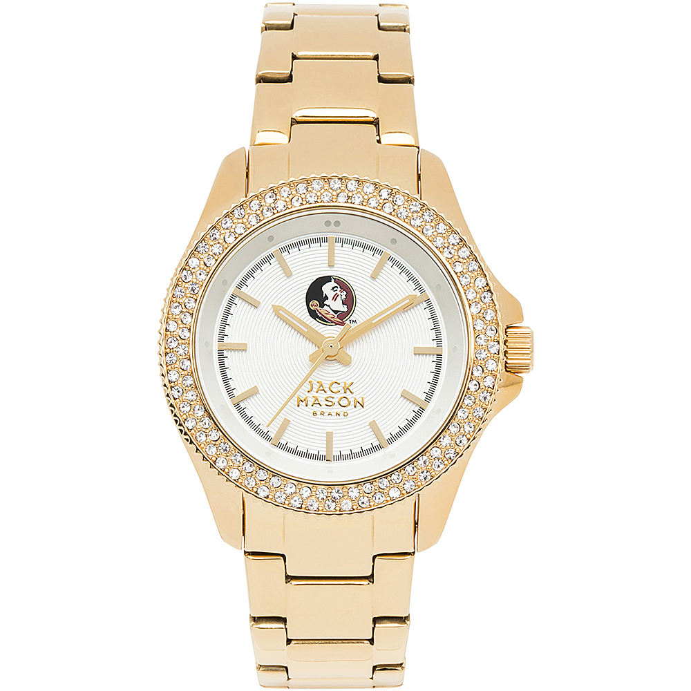 Jack Mason League NCAA Gold Glitz Womens Watch Florida State Seminoles - Jack Mason League Watches - Fashion Accessories, Watches