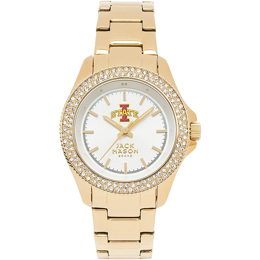 Jack Mason League NCAA Gold Glitz Womens Watch Iowa State Cyclones - Jack Mason League Watches - Fashion Accessories, Watches